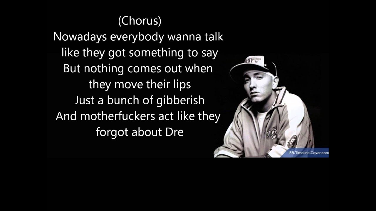 Dr. Dre – Forgot About Dre Lyrics | Genius Lyrics