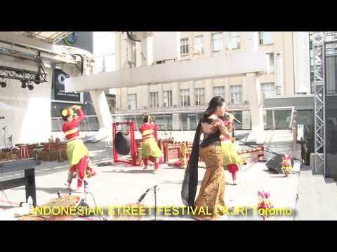 KJRI Toronto: Indonesian Street Festival, Yonge - Dundas Square - Toronto (6 Agustus 2017)