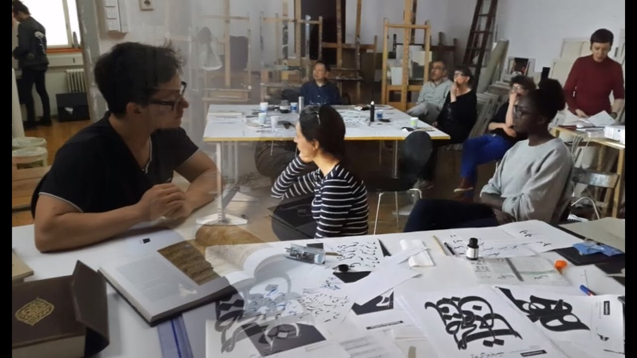 Global Calligraphy Vienna Workshop In The Academy Of Fine Arts
