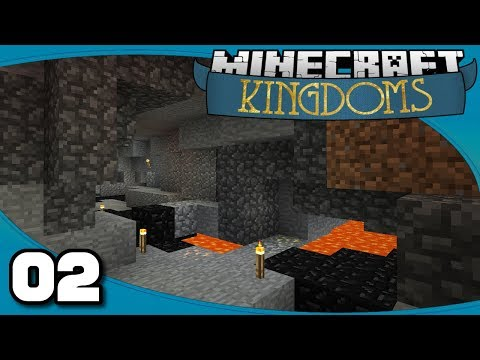 Kingdoms - Ep. 2: Mines & More   Vanilla Minecraft 1.12 Single-Player Survival