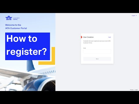 IATA Lab Network  Registration