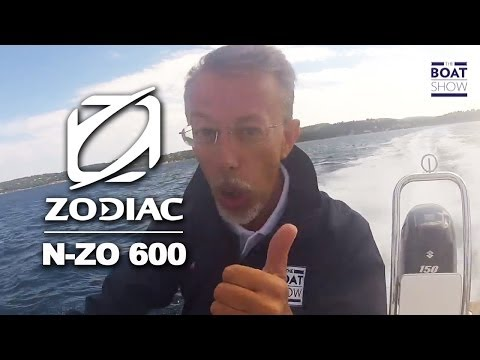 Zodiac N-ZO 600 Rigid Inflatable Boats (RIB) | The Boat Show TV | English