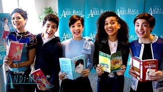 Andi Mack Cast on GMA! 📖   Magic of Storytelling   Disney Channel