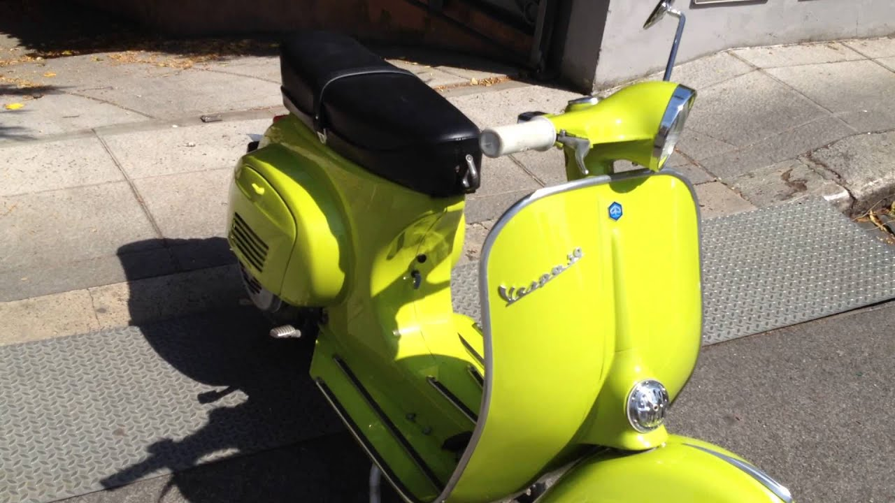 vespa 50 l 1969 youtube. Black Bedroom Furniture Sets. Home Design Ideas