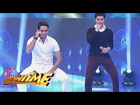 Gerald and JC goes sexy dancing on It's Showtime