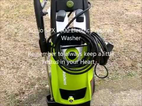 Sun Joe Spx 3000 Electric Pressure Washer Review Youtube