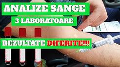 ANALIZE SANGE la 3 LABORATOARE si REZULTATE DIFERITE! Gral Medical, Synevo si Priority Medical