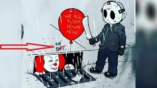 """30+ """"Pennywise The Clown"""" Hilariously Funny Comics To Make You Laugh."""