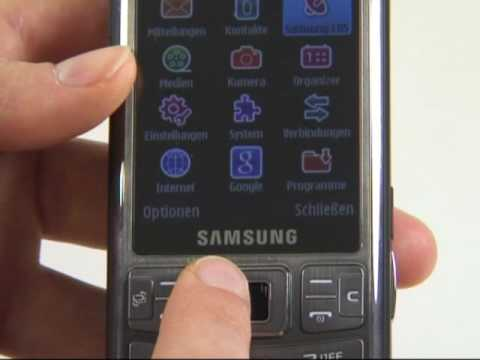 Samsung i7110 Pilot Test Bedienung