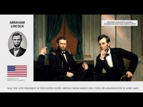 Abraham Lincoln - Presidents of the United States Bios - Wiki Videos by Kinedio