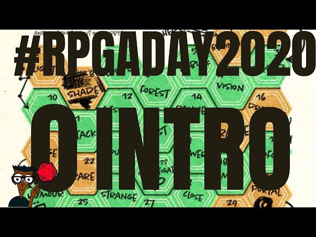#RPGaDay2020 C'est parti \o/