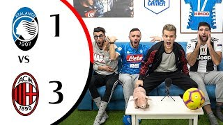 🤫 AMMUTOLITI!!! - ATALANTA 1-3 MILAN | LIVE REACTION GOL HD