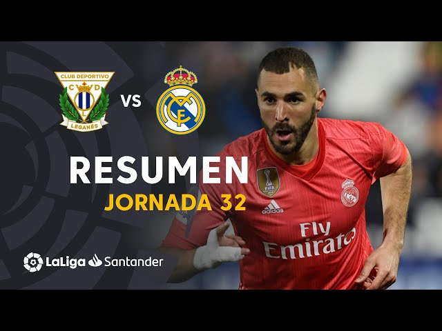 Resumen de CD Leganés vs Real Madrid (1-1)