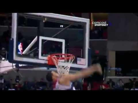 JaVale McGee - 2012 Worst Goaltending In NBA History (Feb22.2012)