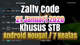 Kode Zaltv Januari 2020 khusus STB Support All Channel Kids, Movie, Sport, Drakor, Malaysia