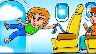 Что Cлучится, Если Двери Самолета Откроются?