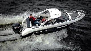 НАШ Катер Phoenix 600ht СПЭВ Пол кабины каюта финский пластик Обзор катера