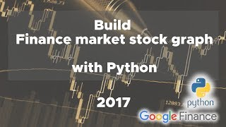 Python Real data Finance Stock Graph in HTML (2017 version!)