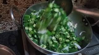 Bhindi ki subzi (Lady Finger recipe)