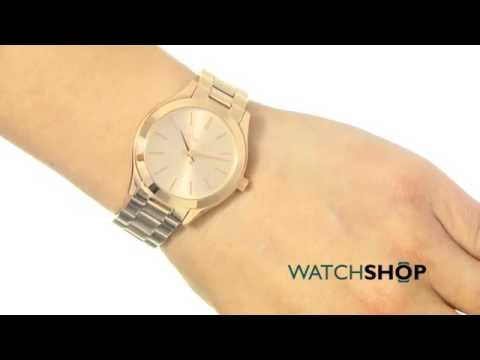 4a0987971 Michael Kors Ladies' Mini Slim Runway Watch (MK3513)