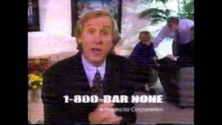 1996 BarNone Commercial (Fran Tarkenton)