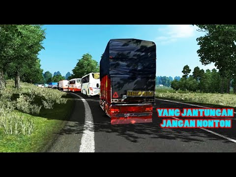 AKSI STUT JACK Di LINTAS SUMATRA - ETS2 MOD INDONESIA