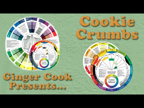 How to use a Color Wheel,  A Cookie Crumb Lesson with Ginger Cook