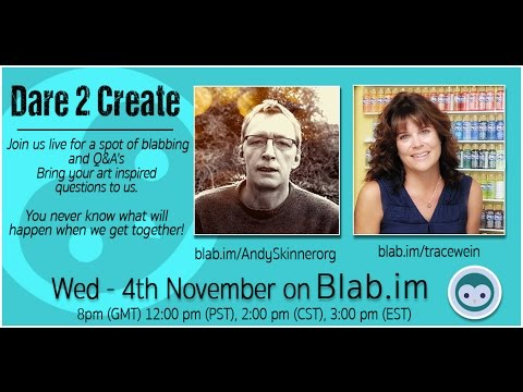 Andy Skinner and Tracy Weinzapfel Blab 1