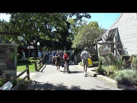 A Walk through Old Mystic Village, Mystic Connecticut