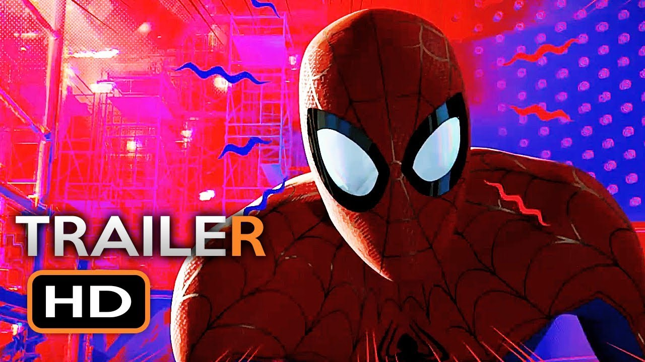 Spider Man Into The Spider Verse Official Trailer 2 2018 Marvel Animated Superhero Movie Hd Youtube