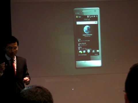 Présentation HTC Touch Diamond 2