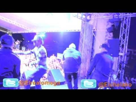 Cosculluela y omega el fuerte  Live Concert Soho Lounge Santiago