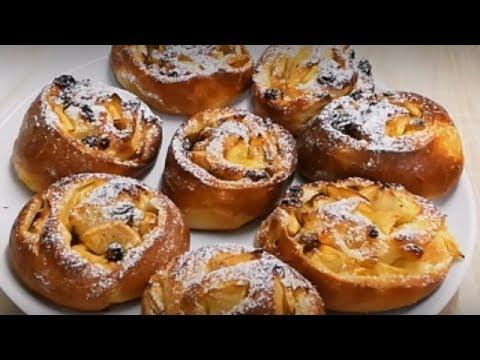 beignets-aux-pommes-raisins-cuit-au-four-facile-(cuisinerapide)