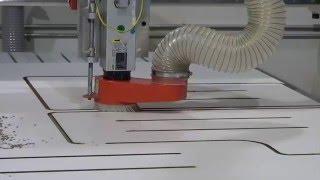 CNC Router Cutting Phenolic Sheet