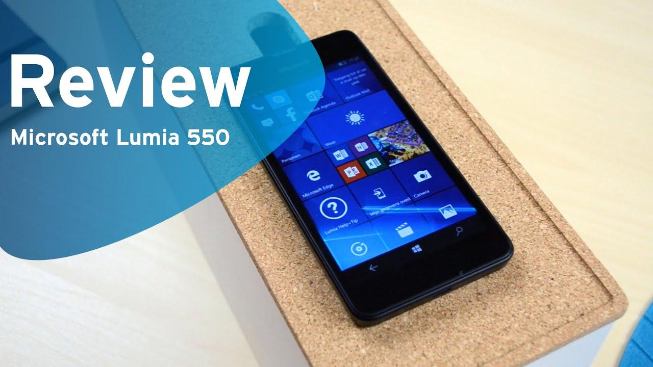 592fb284f9afbe Microsoft Lumia 550 review (Dutch, BE) - YouTube