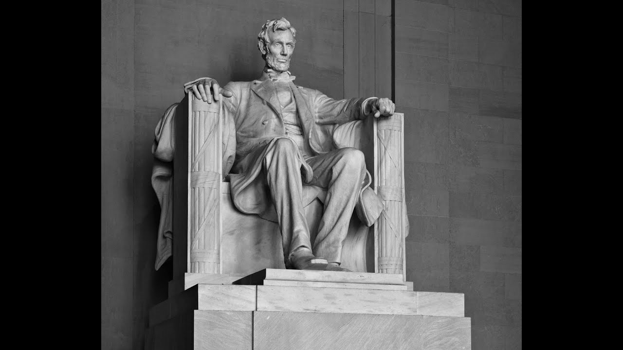 What S Behind Lincoln S Head On The Lincoln Memorial East Coast Trip 2013 Vista Heights Youtube