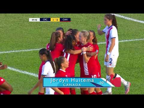 CU20W 2018: Costa Rica vs Canada Highlights