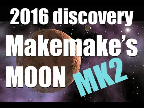 MAKEMAKE and its MOON facts - 2016 discovery! [Universe Sandbox 2]