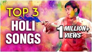 Top 3 Holi Songs Best Holi Songs Best Bollywood Holi Hits Superhit Hindi Songs