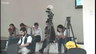 Secretaria  de Gobierno - Rueda de Prensa Huracán Newton