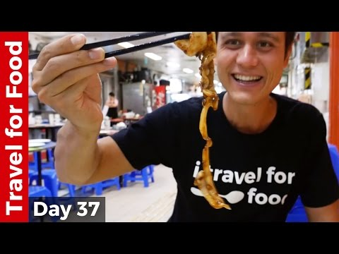 Hong Kong Food Tour - Breakfast, Bamboo Noodles Won Ton, and