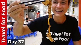 Hong Kong Food Tour - Breakfast, Bamboo Noodles Won Ton, and Chinese Dai Pai Dong Feast! thumbnail