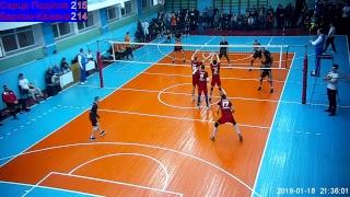 Волейбол СуперЛіга 10 тур. Серце Поділля - Барком Кажани. 18.01.2019 р.