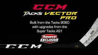 Source Exclusive: CCM Tacks Vector Pro Hockey Stick (2018) | Source For Sports