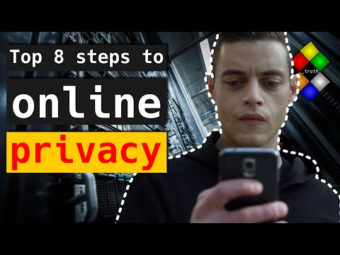 Top 8 steps to protect your online privacy tutorial