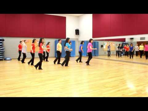 Lady In Red - Line Dance (Dance & Teach in English & 中文)