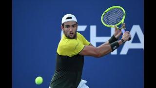 Matteo Berrettini vs Alexei Popyrin | US Open 2019 R3 Highlights