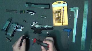 Vlog 36 PT 2 (Full OPS - M.R.P CAL . 45 airsoft pistol field strip)