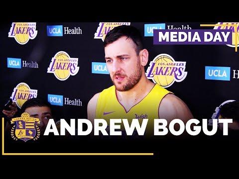Lakers Media Day: Andrew Bogut (FULL INTERVIEW)
