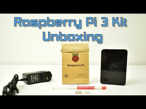 Raspberry Pi 3 Kit From Amazon Quick Look And Unboxing - YT